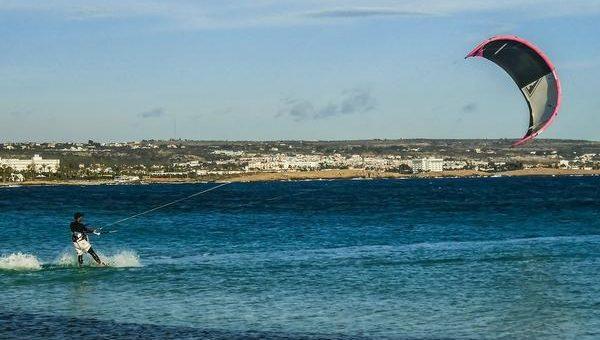 Kitesurfing dla dziecka