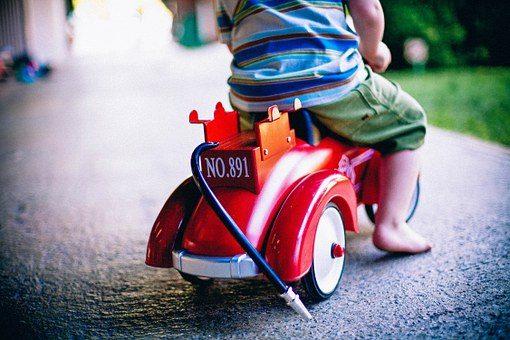 Wybór jeździka dla dziecka